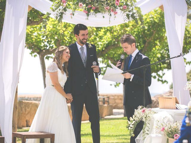 La boda de Fernando y Marta en Peñiscola, Castellón 19