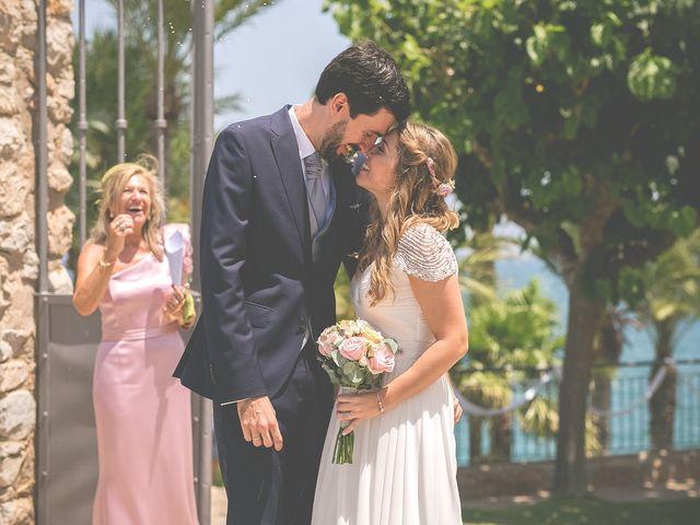 La boda de Fernando y Marta en Peñiscola, Castellón 33