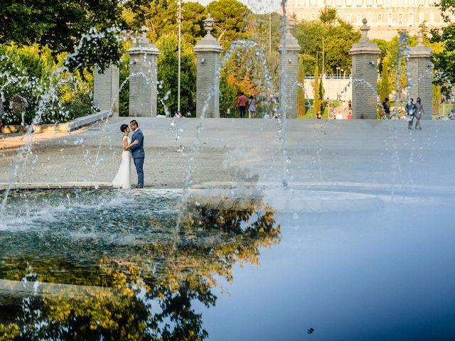 La boda de Francisco y Alexandra en Madrid, Madrid 25