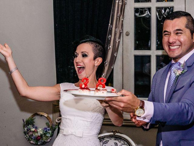 La boda de Francisco y Alexandra en Madrid, Madrid 32