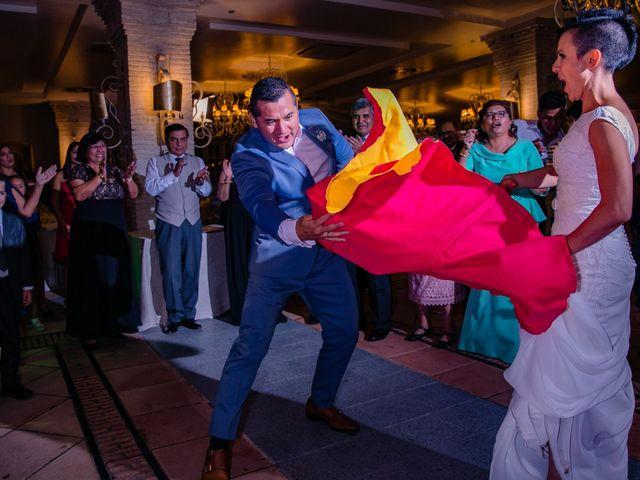 La boda de Francisco y Alexandra en Madrid, Madrid 35