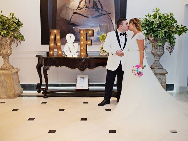 La boda de Fran y Ana en Madrid, Madrid 1