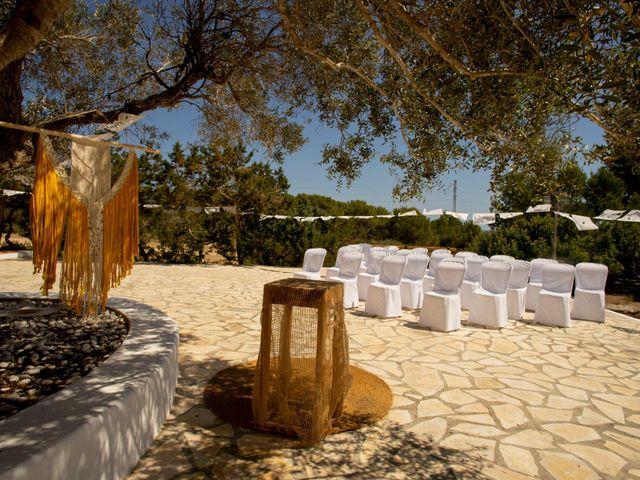La boda de Yas y Gil en Sant Francesc De Formentera, Islas Baleares 2