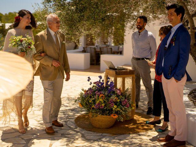 La boda de Yas y Gil en Sant Francesc De Formentera, Islas Baleares 30