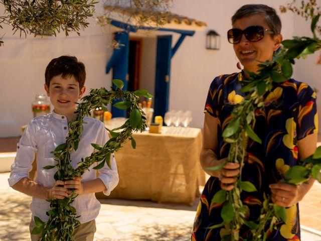 La boda de Yas y Gil en Sant Francesc De Formentera, Islas Baleares 34