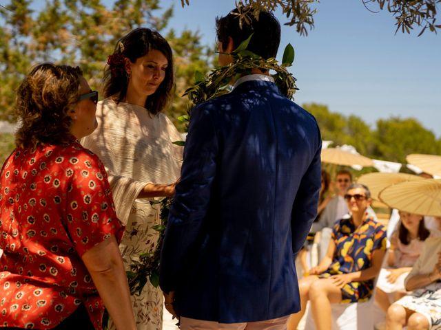 La boda de Yas y Gil en Sant Francesc De Formentera, Islas Baleares 37
