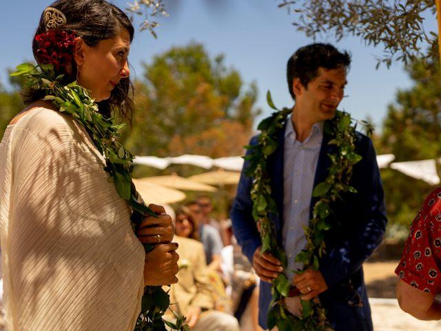 La boda de Yas y Gil en Sant Francesc De Formentera, Islas Baleares 40