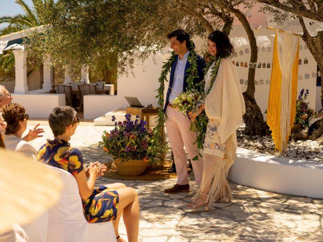 La boda de Yas y Gil en Sant Francesc De Formentera, Islas Baleares 41