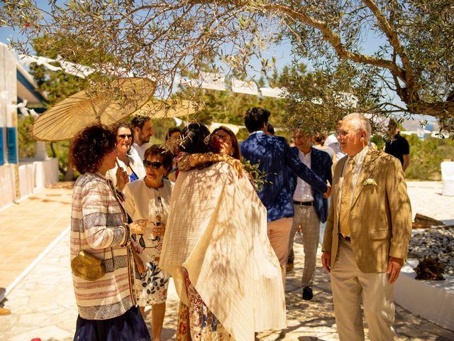 La boda de Yas y Gil en Sant Francesc De Formentera, Islas Baleares 42