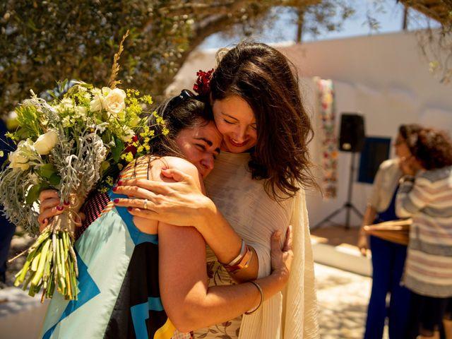 La boda de Yas y Gil en Sant Francesc De Formentera, Islas Baleares 45