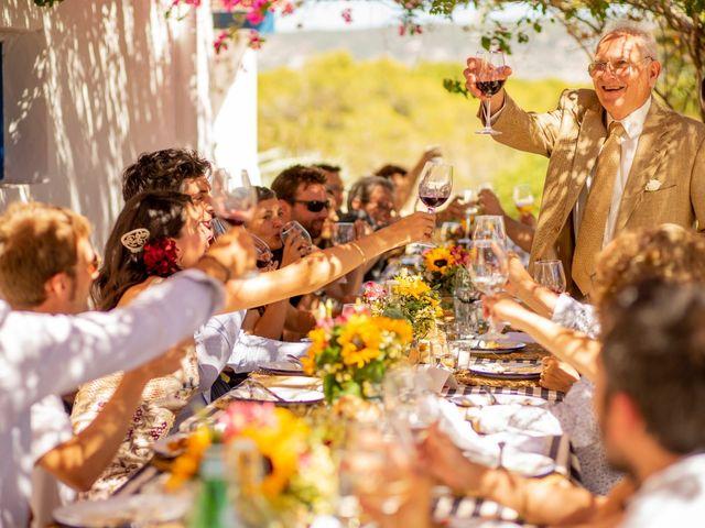 La boda de Yas y Gil en Sant Francesc De Formentera, Islas Baleares 55