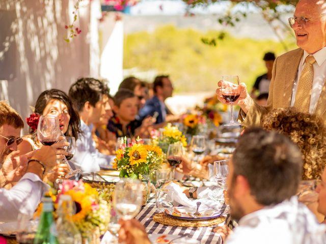 La boda de Yas y Gil en Sant Francesc De Formentera, Islas Baleares 61