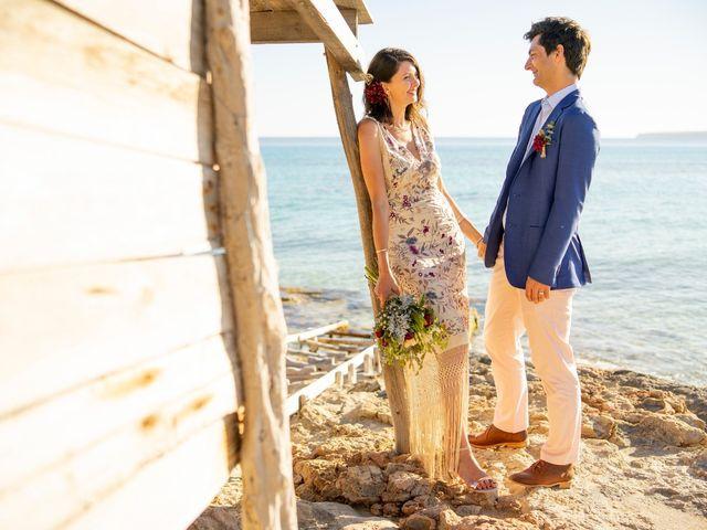 La boda de Yas y Gil en Sant Francesc De Formentera, Islas Baleares 73