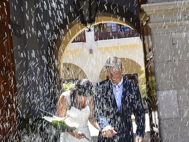 La boda de Vane y Fran  en Guimar, Santa Cruz de Tenerife 1