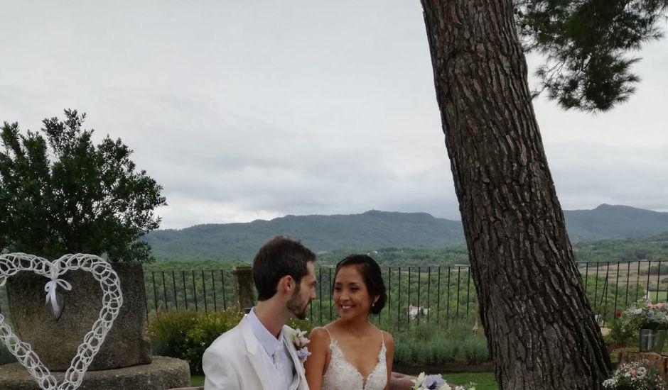 La boda de Andrés  y Vera Lucia  en Sant Marti De Tous, Barcelona