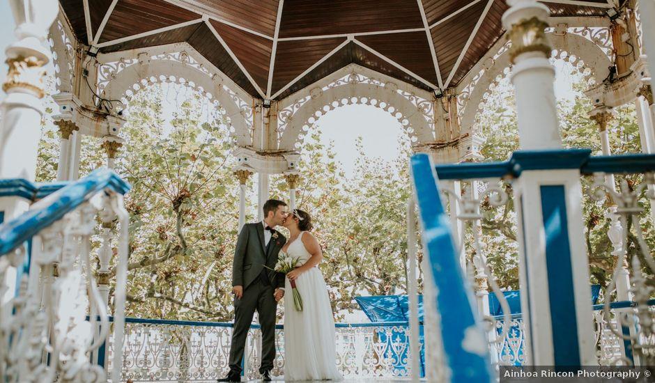 La boda de Rubén y Irantzu en Portugalete, Vizcaya