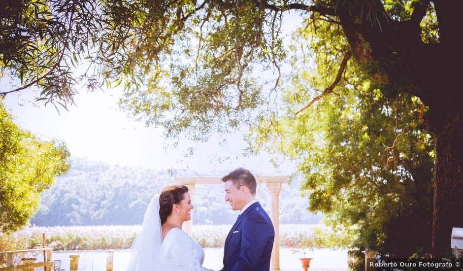 La boda de Martín y Pili en Outes, A Coruña