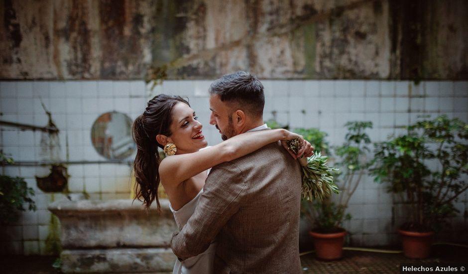 La boda de Gonzalo y María en Gijón, Asturias