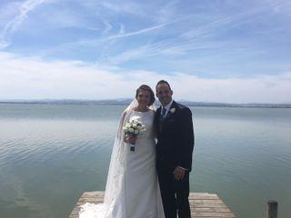 La boda de Virtu y Andrés