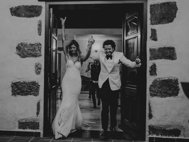 La boda de Jota y Carmen en San Bartolomé, Las Palmas 129