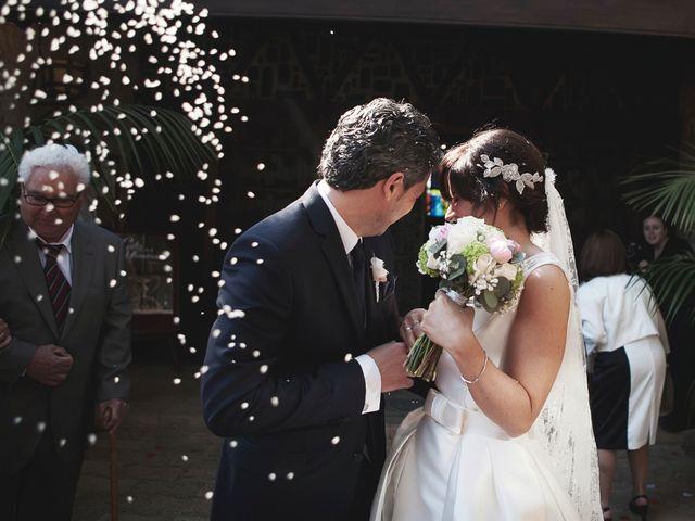 La boda de Amparo y Dani