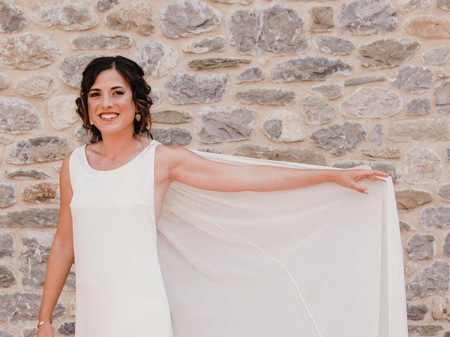 La boda de Flavio y Miriam en Fares, Girona 14