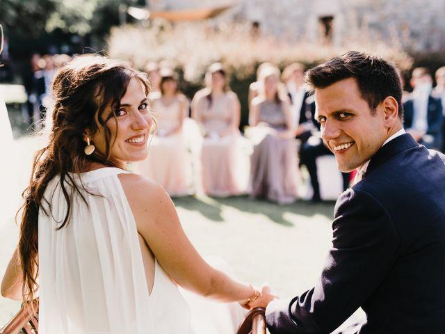 La boda de Flavio y Miriam en Fares, Girona 1