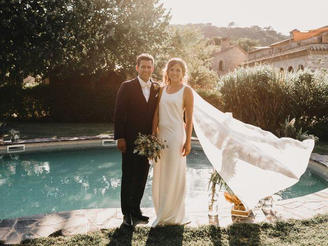 La boda de Flavio y Miriam en Fares, Girona 33