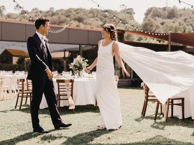 La boda de Flavio y Miriam en Fares, Girona 35