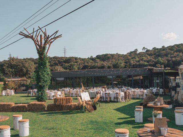 La boda de Flavio y Miriam en Fares, Girona 45