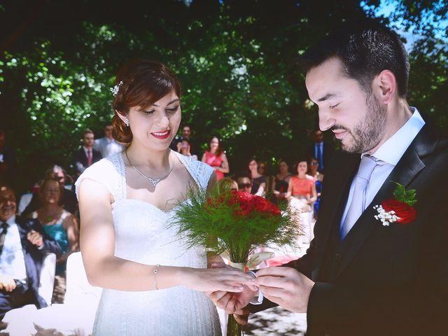 La boda de Chema y Patricia en Valdastillas, Cáceres 48