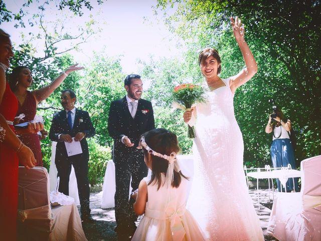 La boda de Chema y Patricia en Valdastillas, Cáceres 51