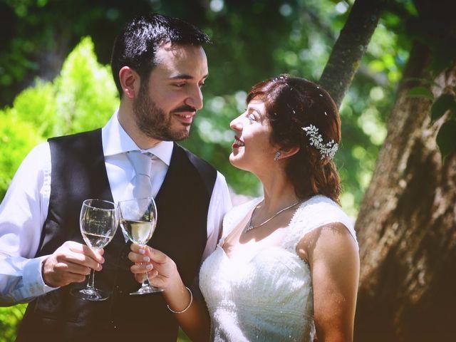 La boda de Chema y Patricia en Valdastillas, Cáceres 58