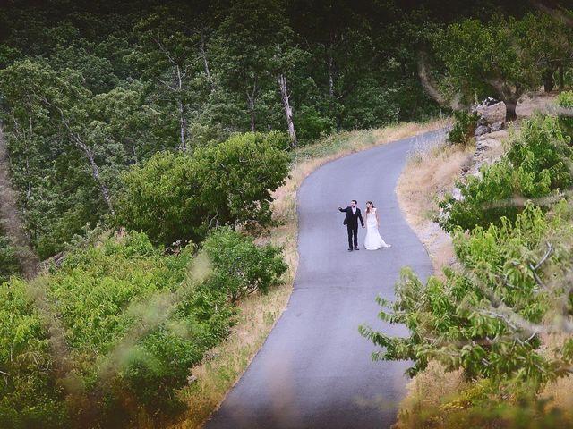 La boda de Chema y Patricia en Valdastillas, Cáceres 77