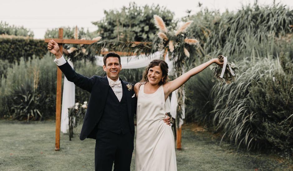 La boda de Flavio y Miriam en Fares, Girona