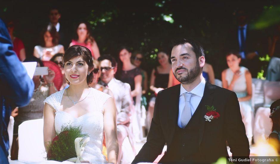 La boda de Chema y Patricia en Valdastillas, Cáceres