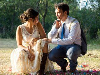 La boda de Lulu y Toni