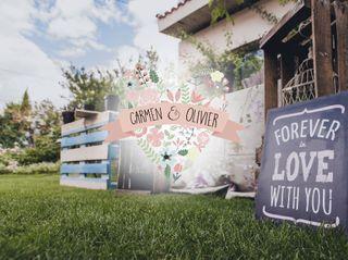 La boda de Carmen y Olivier 1