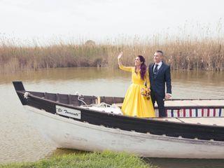 La boda de Paz y Juan