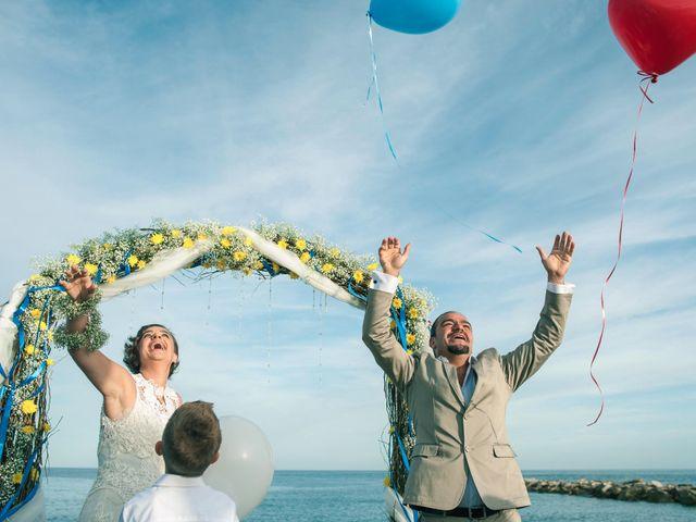 La boda de Dani y Aurora en Sotogrande, Cádiz 18