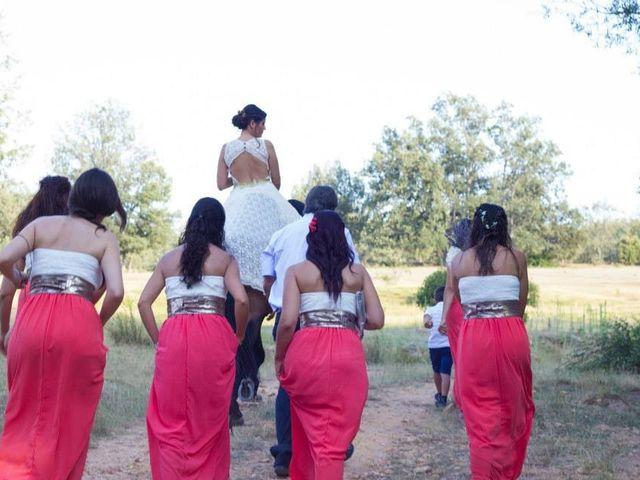 La boda de Toni y Lulu en La Nava De Jadraque, Guadalajara 2