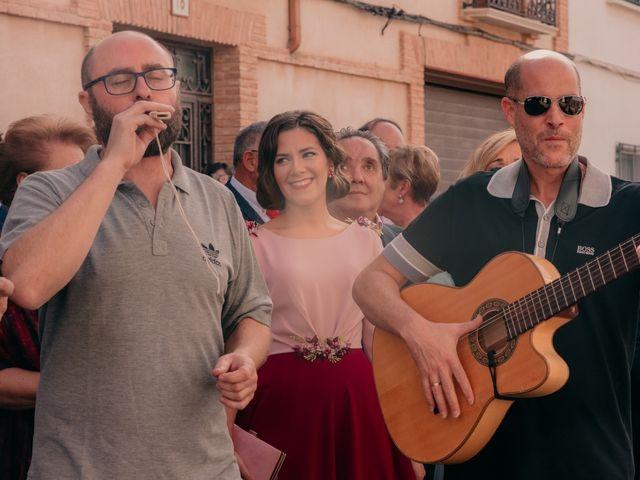 La boda de Ismael y Ana en Villarrubia De Los Ojos, Ciudad Real 48