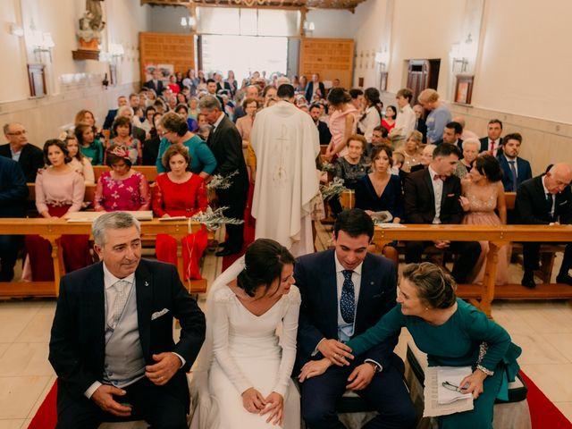 La boda de Ismael y Ana en Villarrubia De Los Ojos, Ciudad Real 80