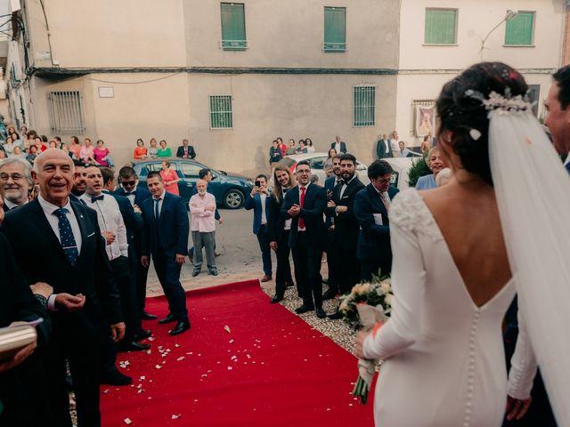 La boda de Ismael y Ana en Villarrubia De Los Ojos, Ciudad Real 83