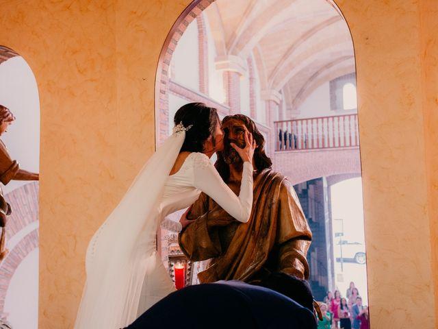 La boda de Ismael y Ana en Villarrubia De Los Ojos, Ciudad Real 84