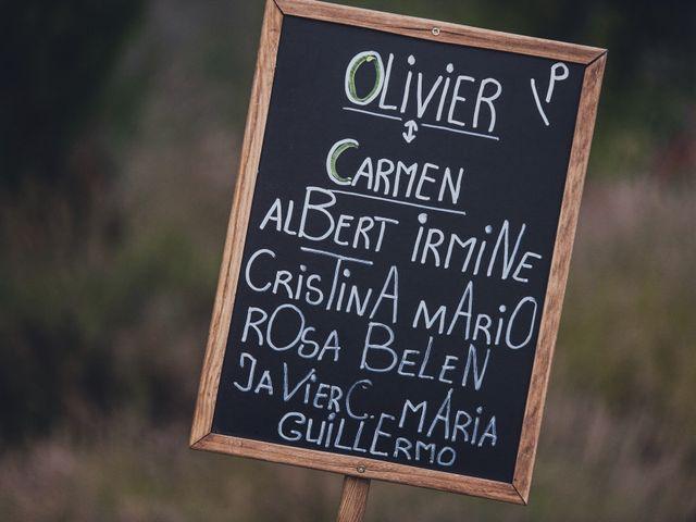 La boda de Olivier y Carmen en San Agustin De Guadalix, Madrid 38