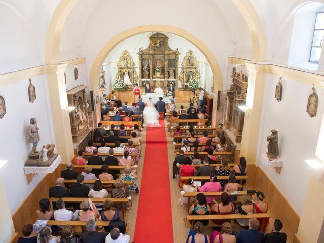 La boda de Óscar y Vanessa en Villalvaro, Soria 14