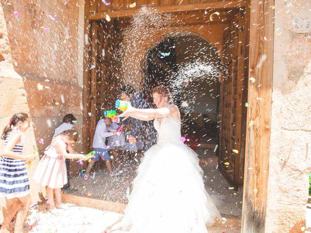 La boda de Óscar y Vanessa en Villalvaro, Soria 19
