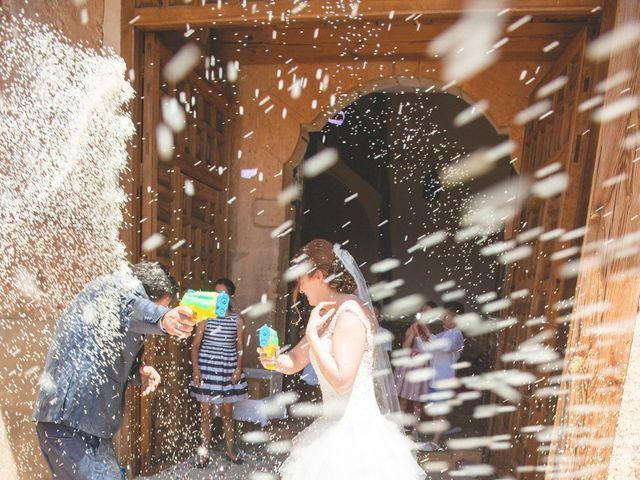 La boda de Óscar y Vanessa en Villalvaro, Soria 21