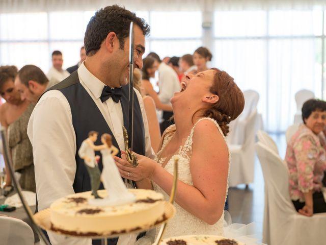 La boda de Óscar y Vanessa en Villalvaro, Soria 36